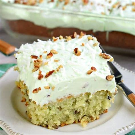 cake watergate sheet pistachio recipe pudding easy easiest treats