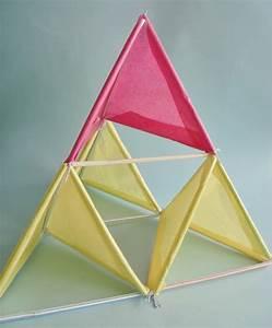 tetrahedral kite lesson plans craftgossipcom kiddo With tetrahedron kite template