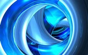 Koleksi Wallpaper Biru 3D Abstrak Keren