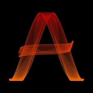 free illustration letter a particles alphabet abc With photo letter pictures