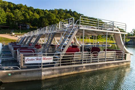 Pontoon Boat Rental Kinzua Dam by Center Hill Marina