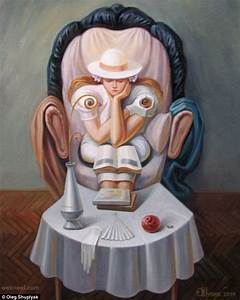 oleg shuplyak illusion painting salvador dali 9 - Full Image
