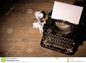 Vintage typewriter stock photo. Image of creative, page ...