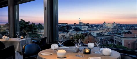 Ristorante La Terrazza luxury terrazza rome hotel dorchester collection