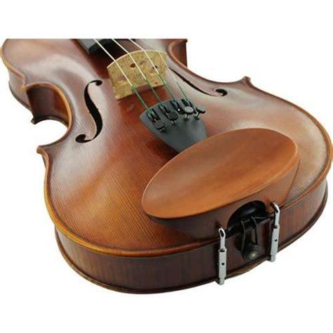 flesch boxwood violin chinrest center mounted