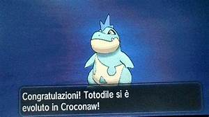 Shiny Totodile Evolution Youtube