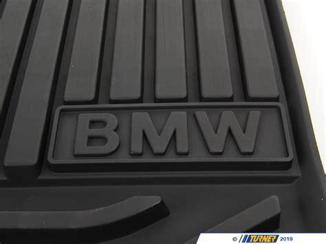 genuine bmw  weather rubber floor mats
