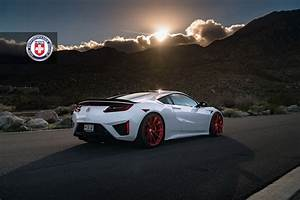 Gallery: 2017 Acura NSX on Frozen Red HRE P204 Wheels ...