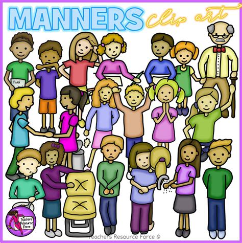 manners for kids clipart images manners for kids clipart collection