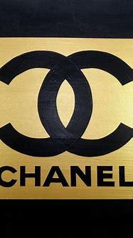 Black and Gold Chanel Logo - LogoDix