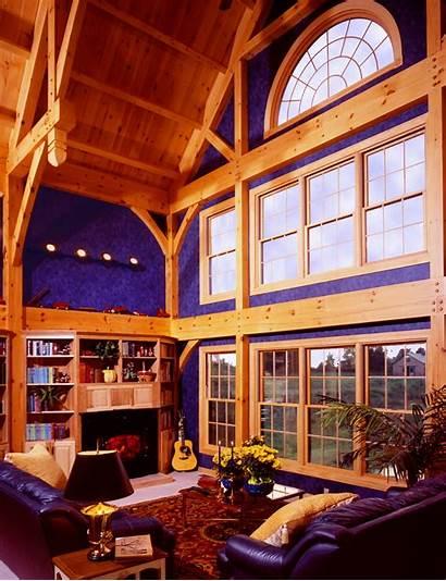 Beam Timber Building Homes Frame Ceiling Interiors