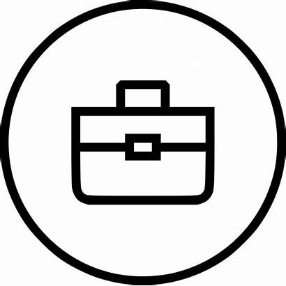 Icon Bag Business Briefcase Suitcase Portfolio Svg