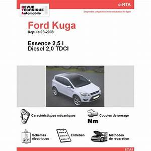 Ford Kuga Essence Occasion : revue technique ford kuga essence et diesel rta site officiel etai ~ Gottalentnigeria.com Avis de Voitures