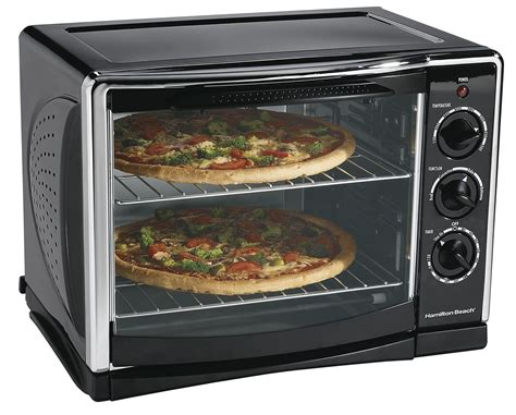 Countertop Oven With Convection by Hamilton 31197r Kitchen Countertop Oven Broiler W