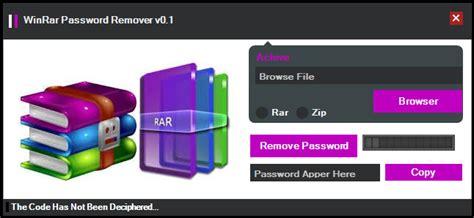 winrar password cracker winrar password remover pinterest