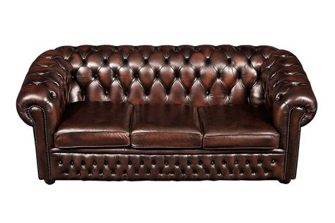 chesterfield sofa brown leather brown leather chesterfield sofa home furniture design