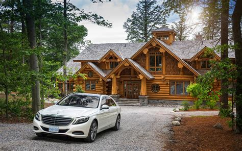 2014 mercedes s class rustic quot chalet quot for sale on lake rosseau only 5 5 million