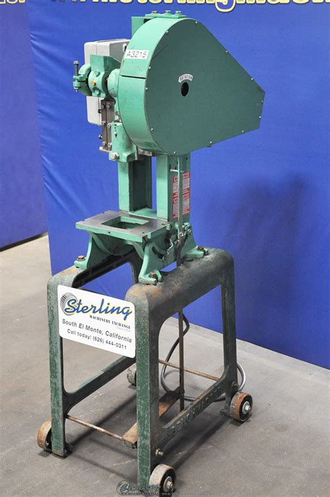 benchmaster punch press presses sterling machinery