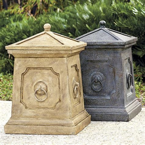 high quality patio garbage can 10 decorative outdoor