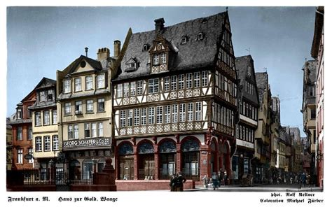 Haus Zur Goldenen Waage (frankfurt Am Main) Wikipedia