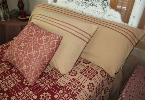 feed sack iii pillow cases by family heirloom weavers