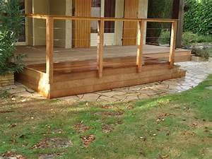 rambarde de terrasse en bois alsace bois concept With modele escalier exterieur terrasse 8 balustrade bois exterieur pas cher
