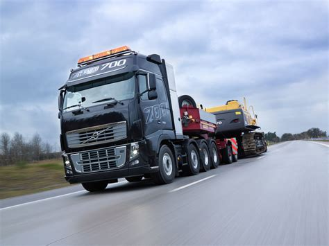 big volvo volvo fh16 is the most powerful truck in the world