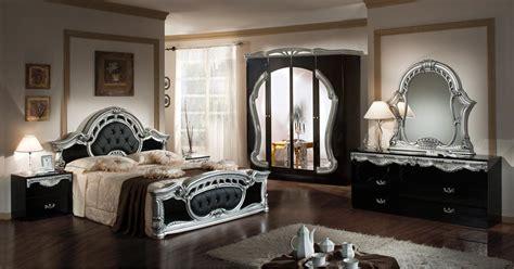 furniture black and silver bedroom set modrest rococco italian classic black silver bedroom set