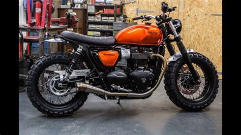 Triumph Bonneville custom - YouTube