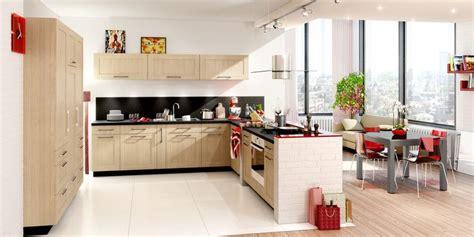 cuisine harmonie cuisine en l aspect bois une cuisine ouverte en harmonie