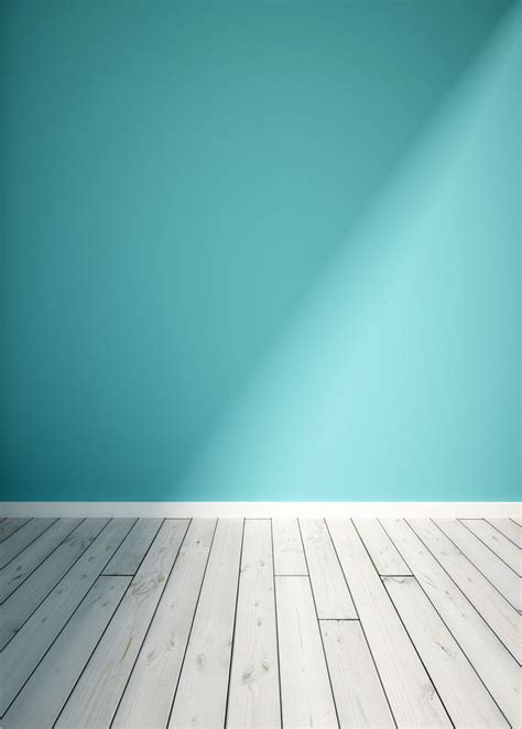 Photography Background Wooden Floor Photography Backdrops Photo Studio Prop Blue