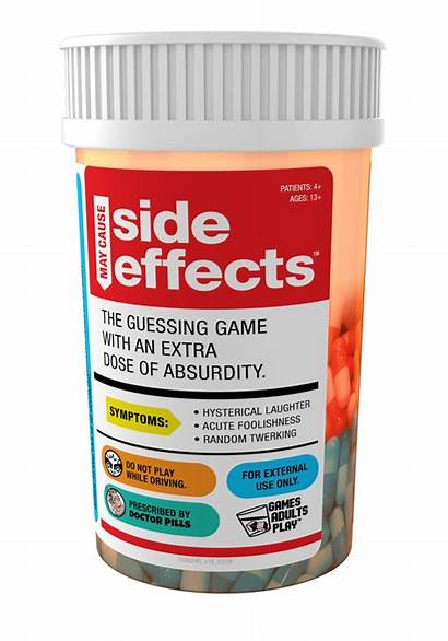 Effects Side Cause Bottle Games Card Novelty