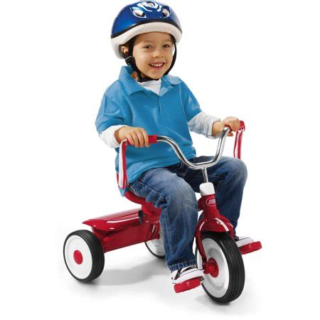 radio flyer ready  ride folding tricycle red walmartcom
