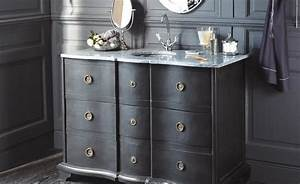 awesome meuble sous vasque retro images awesome interior With awesome meuble sous lavabo ancien 16 meuble vasque salle de bain retro