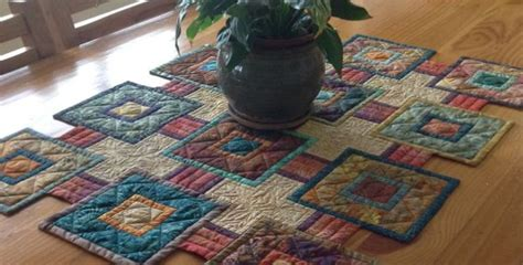 quilted table runner patterns stepping stones quilt pattern for your next table runner