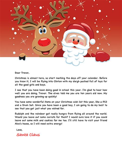 santa letter holiday christmas pinterest