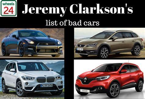 jeremy clarksons list  bad cars  surprise