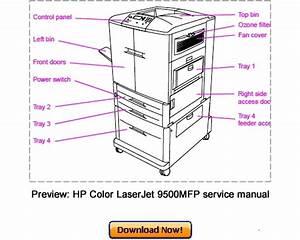 Hp Color Laserjet 9500 9500mfp Service Repair Manual Download