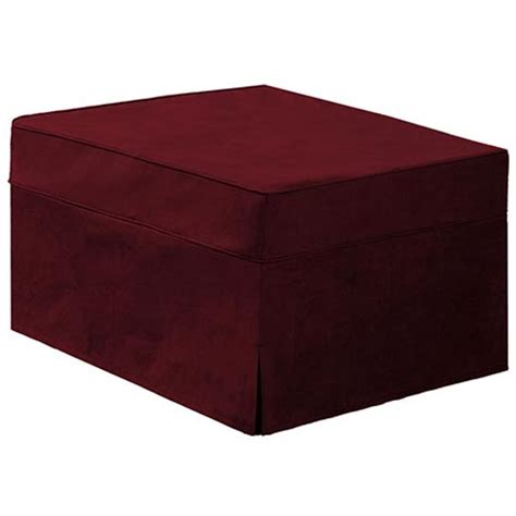 hide a bed ottoman hide a bed ottoman slip cover at support plus fd6722