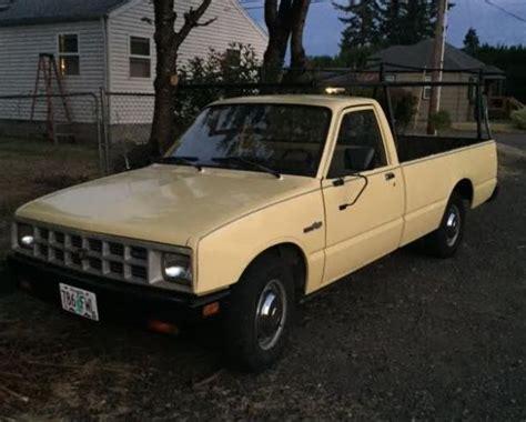 Small Diesel Pickup 1984 Isuzu Pup 2.2 Liter Long-bed