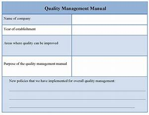 Free quality control form templates movie search engine for Free quality control manual template