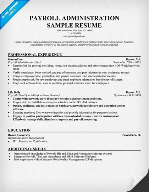 resume exles resume and resume help on