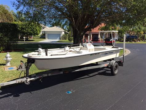 Mitzi Skiff Boat Trader by Sold 2003 Mitzi Skiff 15 The Hull Boating