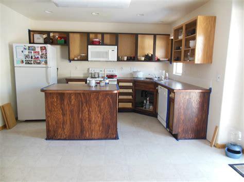 Furniture & Appliances: Stylish Restaining Oak Cabinets