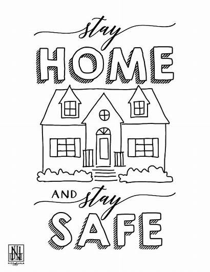 Coloring Sheets Stay Safe Downloadable Sheet Pdf