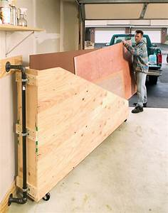 Swing-Out Plywood Storage - Popular Woodworking Magazine