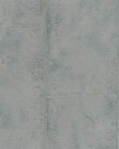 Tapete In Betonoptik : tapete vlies beton optik silber grau metallic marburg 59334 ~ Markanthonyermac.com Haus und Dekorationen