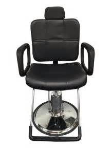 black leather reclining hydraulic barber chair styling