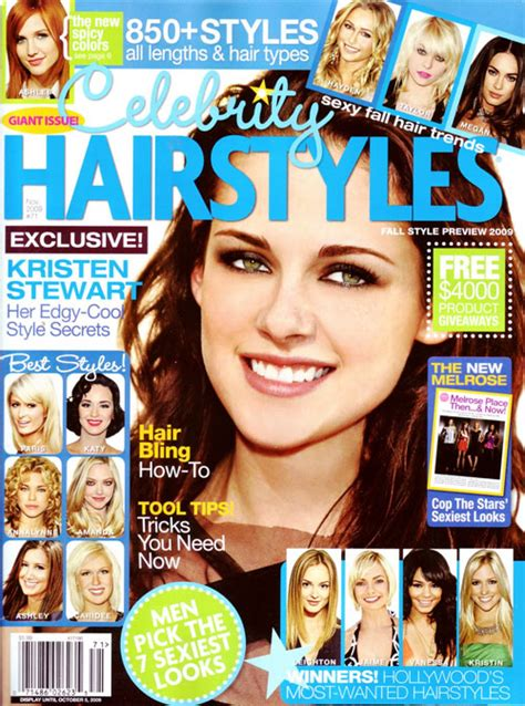 hairstyle magazine fashion celebrity