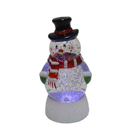 light up snowman indoor trim a home light up glitter snowman seasonal